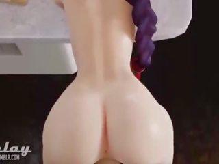 Bublina zadok porno